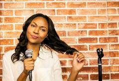 Comedian Amberia Allen